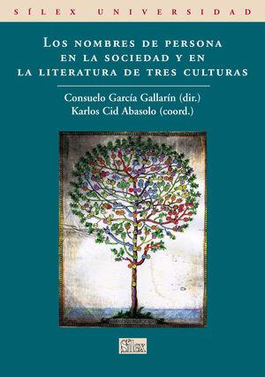 LOS NOMBRES DE PERSONA EN LA SOCIEDAD Y LITERATURA DE TRES CULTURAS