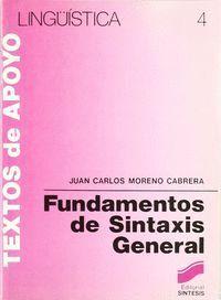 FUNDAMENTOS DE SINTÁXIS GENERAL