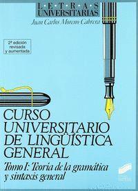 TEORÍA DE LA GRAMÁTICA Y SINTASIS GENERAL