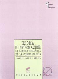 IDIOMA E INFORMACIÓN