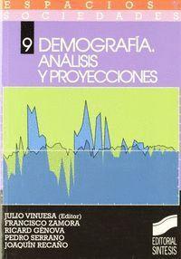 DEMOGRAFIA, ANÁLISIS Y PROYECCIONES