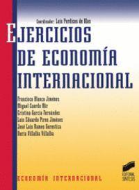 EJERCICIOS DE ECONOMÍA INTERNACIONAL