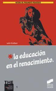 LA EDUCACIÓN EN EL RENACIMIENTO