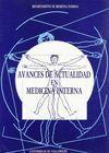 AVANCES DE ACTUALIDAD EN MEDICINA INTERNA. HOMENAJE  AL PROF. R. VELASCO ALONSO