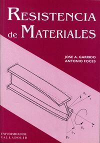 RESISTENCIA DE MATERIALES - 1ª REIMPRESIÓN