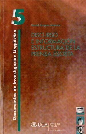 DISCURSO E INFORMACIÓN.