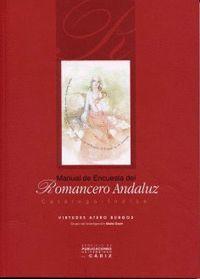 MANUAL DE ENCUESTA DEL ROMANCERO ANDALUZ.