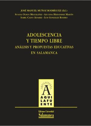 ADOLESCENCIA Y TIEMPO LIBRE