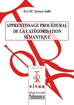 APPRENTISSAGE PROCÉDURAL DE LA CATÉGORISATION SÉMANTIQUE