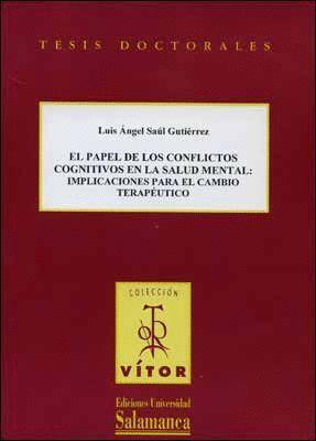 EL PAPEL DE LOS CONFLICTOS COGNITIVOS EN LA SALUD MENTAL