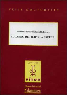 EDUARDO DE FILIPPO A ESCENA