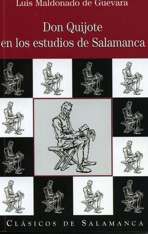 DON QUIJOTE EN LOS ESTUDIOS LITERARIOS DE SALAMANCA