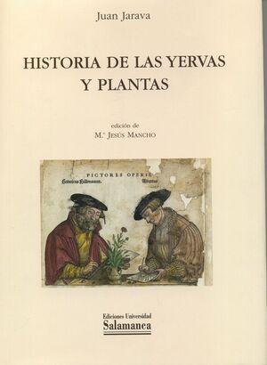 HISTORIA DE LAS YERVAS Y PLANTAS