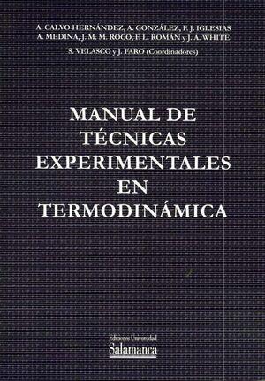 MANUAL DE TÉCNICAS EXPERIMENTALES EN TERMODINÁMICA