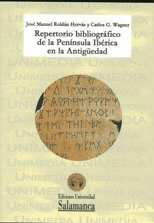REPERTORIO BIBLIOGRÁFICO DE LA PENINSULA IBÉRICA EN LA ANTIGÜEDAD