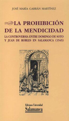 LA PROHIBICIÓN DE LA MENDICIDAD