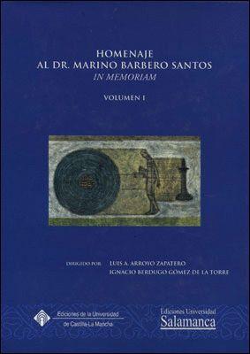 HOMENAJE AL DR. MARINO BARBERO SANTOS. IN MEMORIAM.2 VOLS.