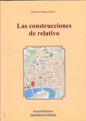LAS CONSTRUCCIONES DE RELATIVO