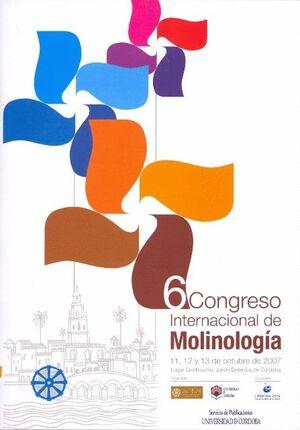 6º CONGRESO INTERNACIONAL DE MOLINOLOGÍA