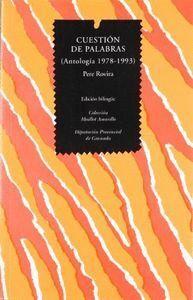 CUESTION DE PALABRAS ANTOLOGIA(1978-1993)