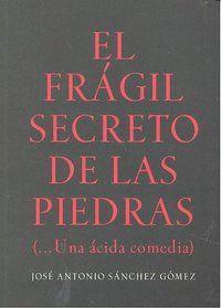 FRAGIL SECRETO DE LAS PIEDRAS