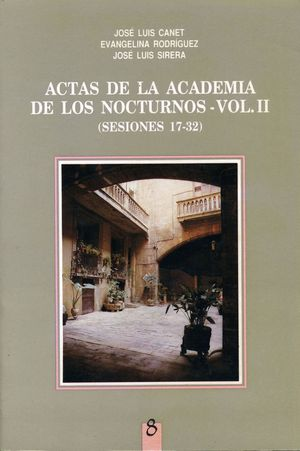 ACTAS DE LA ACADEMIA DE LOS NOCTURNOS