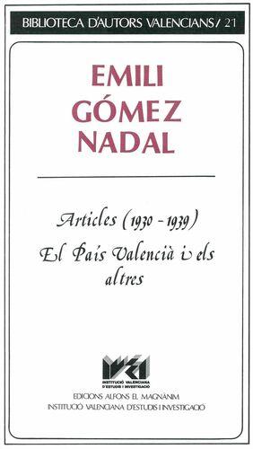 ARTICLES (1930-1939)