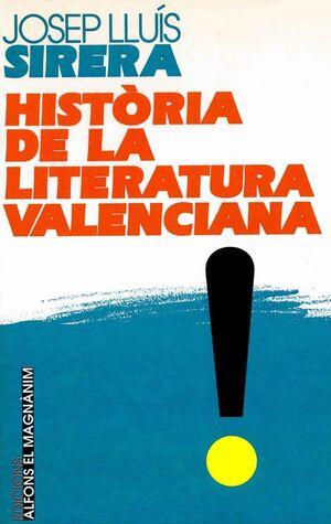 HISTÒRIA DE LA LITERATURA VALENCIANA