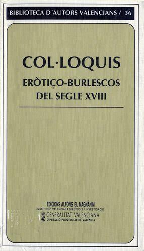 COL·LOQUIS ERÒTICO-BURLESCOS DEL SEGLE XVIII