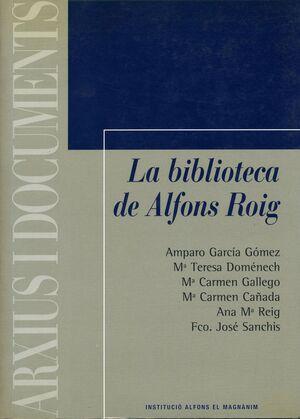 LA BIBLIOTECA DE ALFONS ROIG