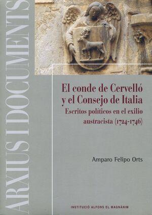 EL CONDE DE CERVELLÓ Y EL CONSEJO DE ITALIA
