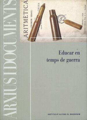 EDUCAR EN TEMPS DE GUERRA