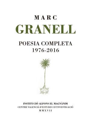 POESIA COMPLETA 1976-2016