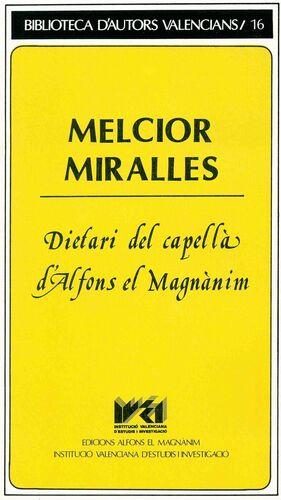 DIETARI DEL CAPELLÀ D'ALFONS EL MAGNÀNIM
