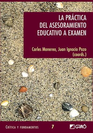 LA PRÁCTICA DEL ASESORAMIENTO EDUCATIVOA EXAMEN