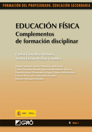 EDUCACIÓN FÍSICA. COMPLEMENTOS DE FORMACIÓN DISCIPLINAR
