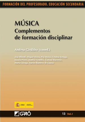 MÚSICA. COMPLEMENTOS DE FORMACIÓN DISCIPLINAR