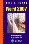 GUÍA DE CAMPO DE WORD 2007