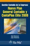 GESTIÓN CONTABLE DE LA EMPRESA: NUEVO PLAN GENERAL CONTABLE Y CONTAPLUS ÉLITE 2009