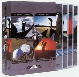 DOCTOR GOLF. PACK DE 4 DVDS