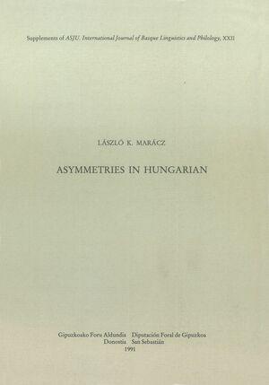ASYMMETRIES IN HUNGARIAN