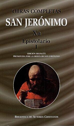 OBRAS COMPLETAS DE SAN JERÓNIMO XA: EPISTOLARIO I (CARTAS 1-85**)
