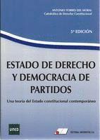 ESTADO DE DERECHO Y DEMOCRACIA DE PARTIDOS 5ª EDIC.