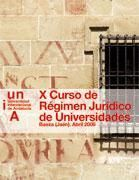 X CURSO DE RÉGIMEN JURÍDICO DE UNIVERSIDADES
