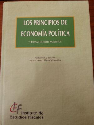 LOS PRINCIPIOS DE ECONOMÍA POLÍTICA