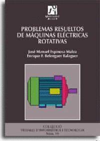 PROBLEMAS RESUELTOS DE MÁQUINAS ELÉCTRICAS ROTATIVAS