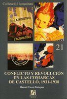 CONFLICTO Y REVOLUCIÓN EN LAS COMARCAS DE CASTELLÓ, 1931-1938