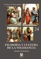 FILOSOFÍA Y CULTURA DE LA TOLERANCIA