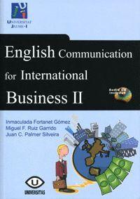ENGLISH COMMUNICATION FOR INTERNATIONAL BUSINESS II