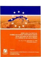 JORNADA NACIONAL SOBRE ESTUDIOS UNIVERSITARIOS